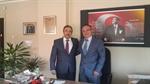 Resim Arcaklıoğlu, Alagöz'ü Ziyaret Etti