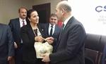Resim Başkan Güneş'ten, Bakan Soylu'ya Ziyaret