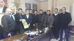 Resim Çaycumaspor'dan Ak Parti ilçe Başkanı Çolakoğlu'na Ziyaret