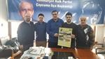 Resim Çaycumaspor'dan İlçe Başkanı Akyol'a Ziyaret