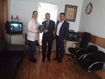 Resim Başkan Güneş Kalkınma Bakanlığı'nda Ziyaretlerde Bulundu