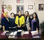Resim Ak Parti Yönetiminden Başkan Güneş'e Ziyaret