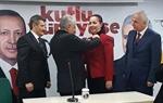 Resim Başbakan Rozeti Taktı, Saltukova'yı İktidarın Belediyesi Yaptı