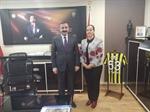 Resim Başkan Güneş'ten Zonguldak İl Emniyet Müdürüne Ziyaret