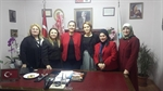 Resim Ak Parti Kadın Kollarından Başkan Güneş'e Ziyaret