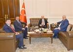 Resim Çaturoğlu ve Ünal, İçişleri Bakanı Süleyman Soylu'yu Ziyaret Etti