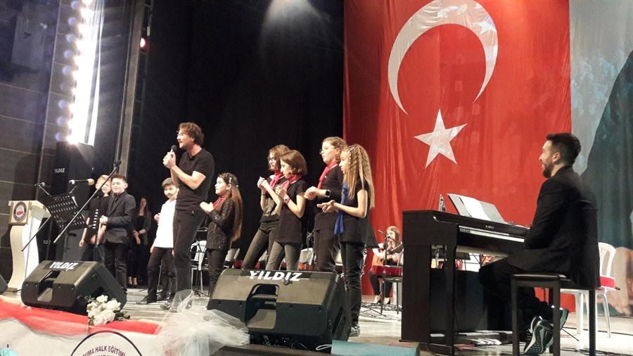 Resim Sanat Okulu Öğrencilerinden Muhteşem Konser