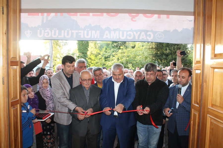 Resim Filyos'ta Cumayanı Camii Akşam Namazında Açıldı