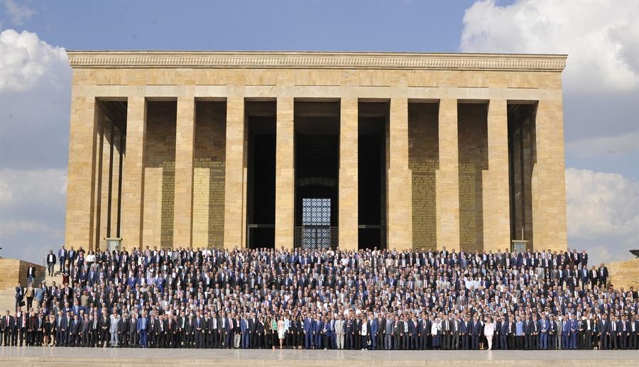 Resim Çaycuma TSO Yönetimi TOBB'un 74.Genel Kuruluna Katıldı