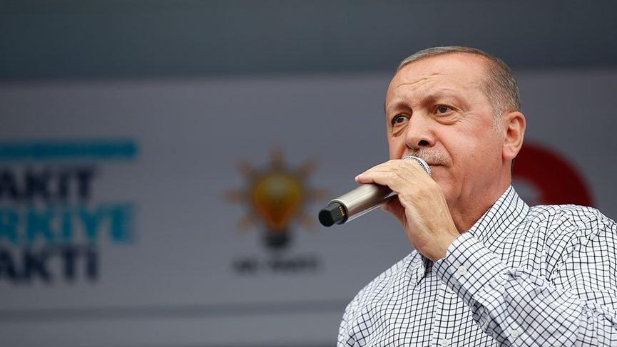 Resim Cumhurbaşkanı Erdoğan'dan Twitter'da Zonguldak Müjdesi