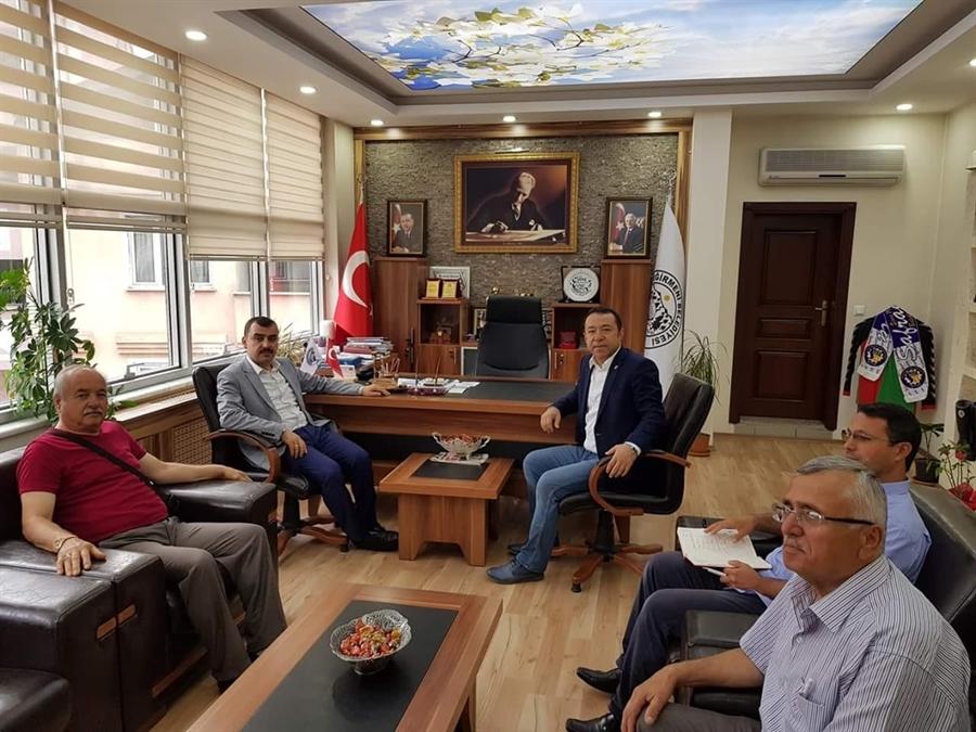 Resim Milletvekili Çolakoğlu, Teşekkür Ziyaretlerini Sürdürdü