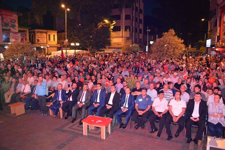 """Resim Kaymakam Keçeli; """"15 Temmuz Gecesi Millet Eğilmedi, Türkiye Yenilmedi"""""""