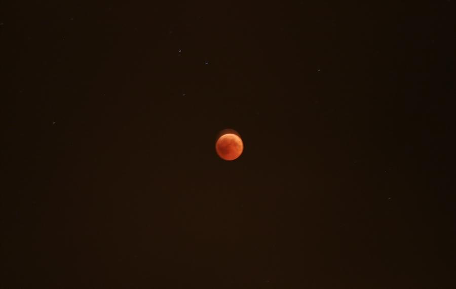 Resim 21'nci Yüzyılın En Uzun Kanlı Ay Tutulması Zonguldak'ta Görüldü