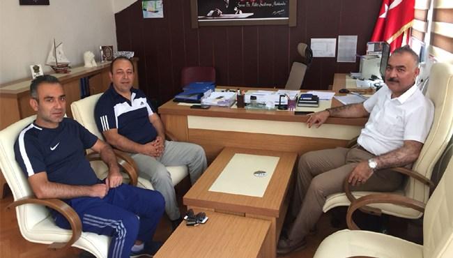 Resim İlçe Başkanı Doğancı, Çaycuma Spor Müdürlüğünü Ziyaret Etti
