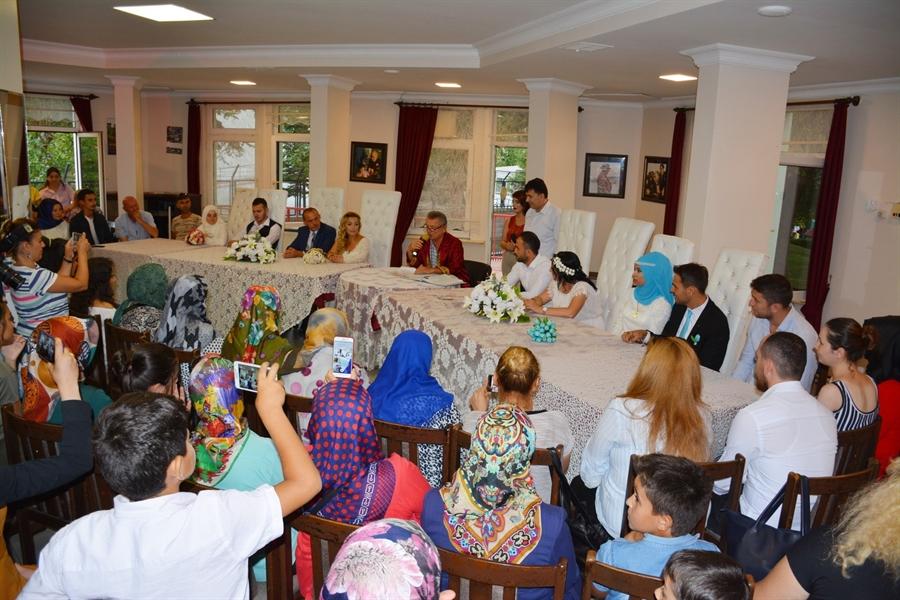 Resim Çaycuma Belediyesi'nden 08.08.2018 için Toplu Nikah Töreni