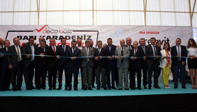 """Resim 2'inci Batı Karadeniz Yapı Dekorasyon ve Mobilya Fuarı"""" Açıldı"""