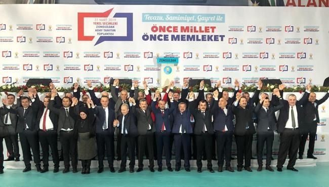 Resim Ak Parti Belediye Başkan Adaylarını Tanıttı
