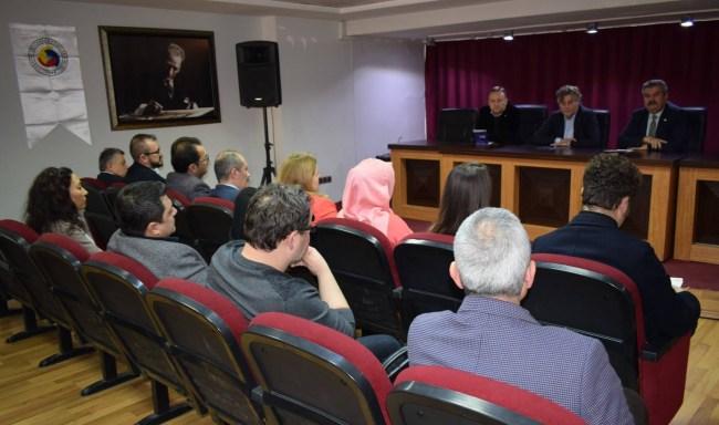 Resim Çaycuma TSO Avukatlarla İstişare Toplantısı Yaptı