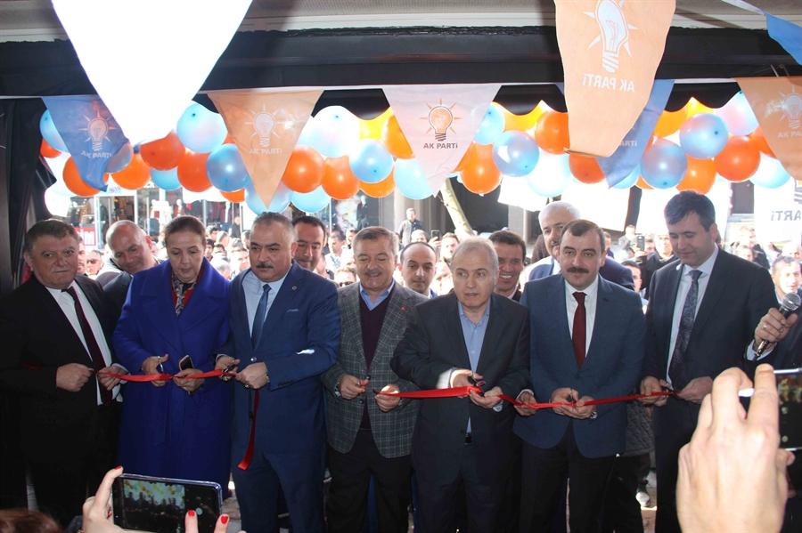 Resim Ak Parti Seçim Bürosun Açılışını Yaptı