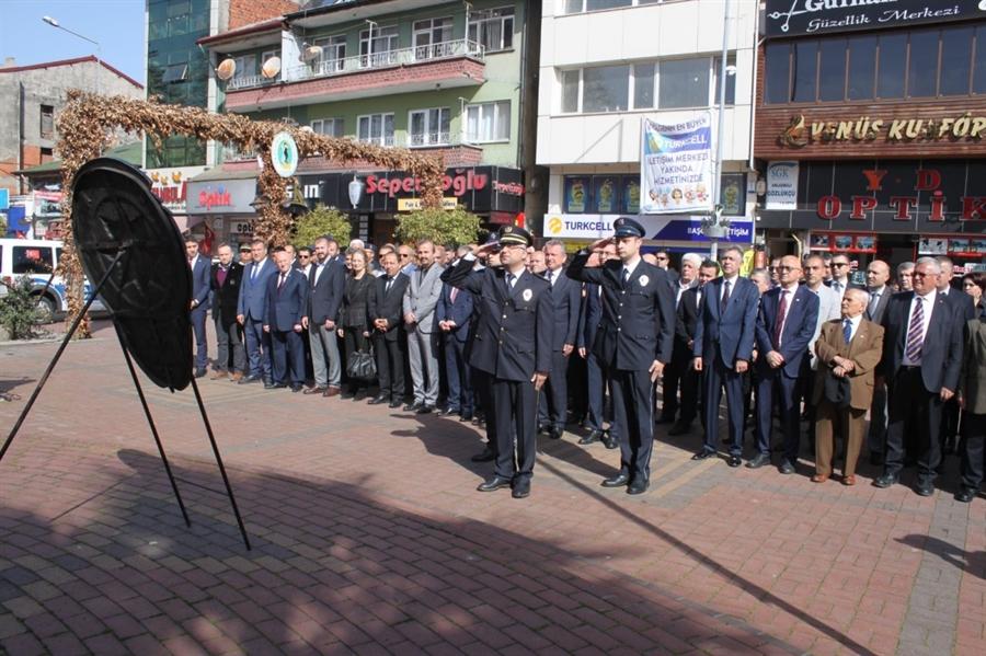 Resim Türk Polis Teşkilatı'nın Kuruluşunun 174. yıl dönümü Çaycuma'da Kutlandı