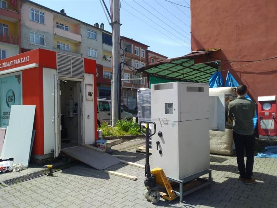 Resim Nebioğlu'na ATM Kuruldu