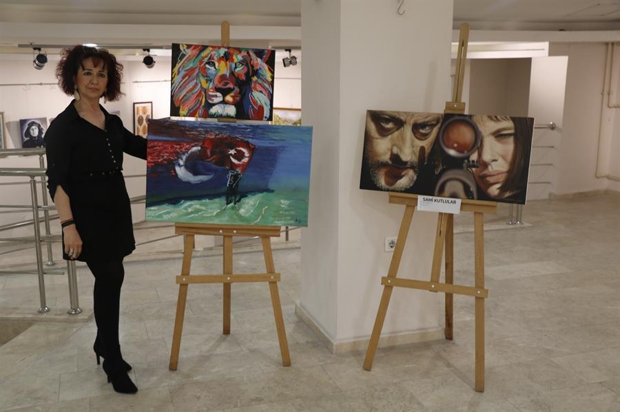 Resim TV Yayınıyla Başladığı Ressamlıkta Hedefi Yurt Dışına Açılmak