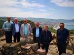 Resim Çaycuma TSO Yöneticileri Filyos Kazı Alanını Ziyaret Etti
