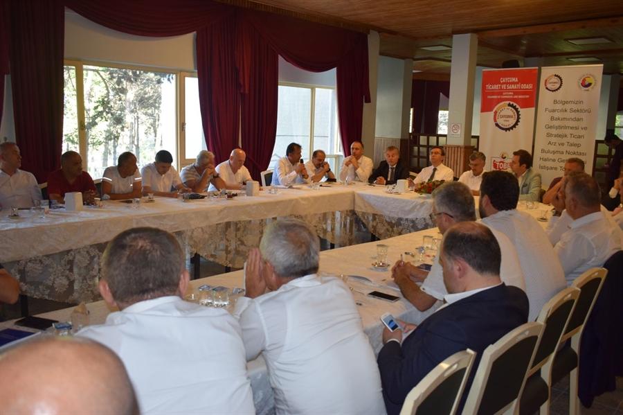 Resim Çaycuma TSO Fuarcılık Sektörü için İstişare Toplantısı Düzenledi
