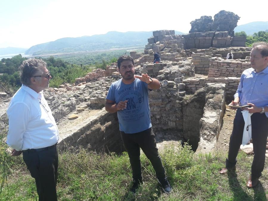 Resim Zonguldaklı İş Adamından Filyos Antik Kenti için Girişim
