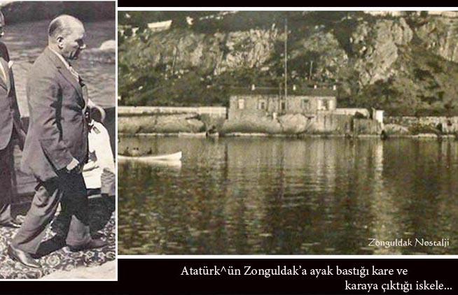 Resim Atatürk'ün Zonguldak'a Gelişinin 88. Yıl Dönümü Kutlandı