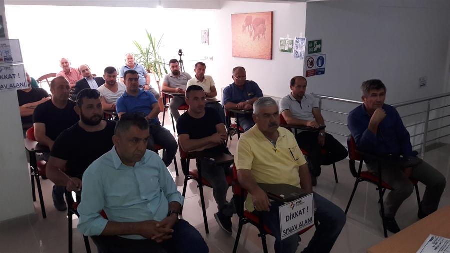 Resim Çaycuma'da Motorlu Kara Taşıt Alım Satım Sorumlusu Seviye 5 Mesleki Yeterlilik Sınavları Yapıldı
