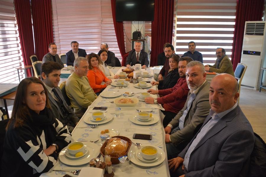 Resim Başkan Kantarcı, Yerel ve Ulusal Basın Temsilcileri ile Bir Araya Geldi