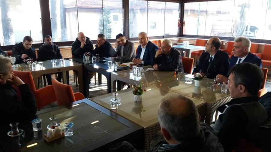 Resim Filyos'un Geleceği ve Esnafın Sorunları ile ilgili Toplantı Düzenlendi
