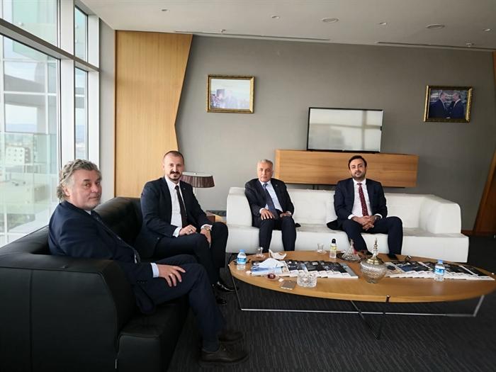 Resim Kamitoğlu ve Dereli, Ankara'da Temaslarda Bulundu