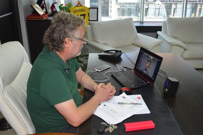Resim Kamitoğlu, BAKKA'nın Organize Ettiği Lojistik Merkez Başlangıç Toplantısı'na Katıldı
