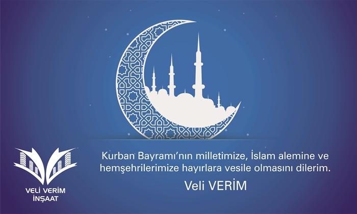 """Resim """"Kurban Bayramı'nın milletimize, İslam alemine ve hemşehrilerimize hayırlara vesile olmasını dilerim."""""""