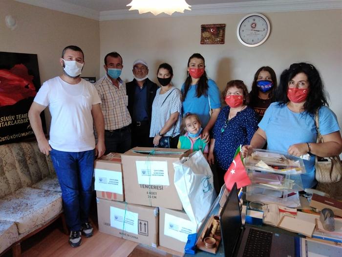 Resim Çaycuma ADD, İhtiyaç Sahibi Öğrencilere Kırtasiye Yardımında Bulundu