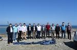 Resim Çaycuma TSO Yöneticileri Filyos Limanı İnşaatını İnceledi