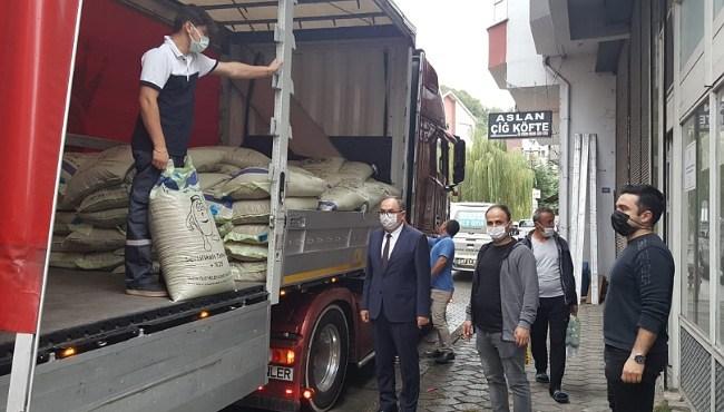 Resim Çiftçilere 60 Ton Sertifikalı Buğday Tohumu Dağıtıldı