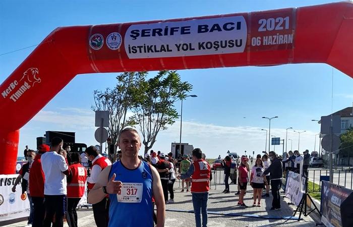 Resim Veteran Atlet Erhan Akçelik, Çaycuma'yı Temsil Etti