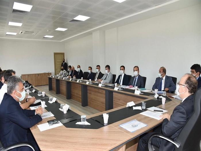 Resim Zonguldak Havalimanı için Değerlendirme ve Koordinasyon Toplantısı Yapıldı