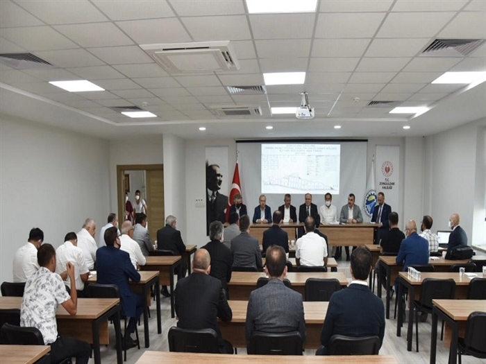 Resim Sera OSB Altyapı İhale Sözleşmesi İmzalandı
